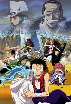 One Piece Film 08: Episode of Alabasta – The Desert Princess and the Pirates (2007)