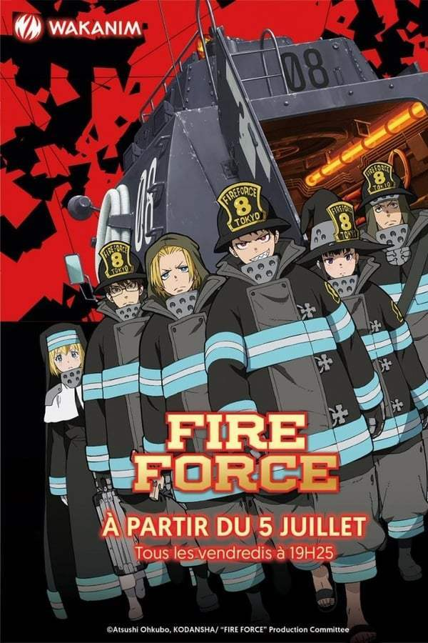 Fire Force Saison 1 VF
