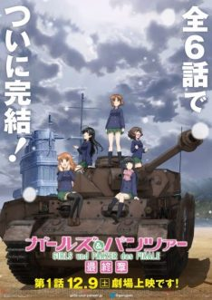 Girls und Panzer : The Final Chapter (2017)